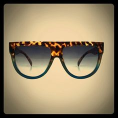 new shadow ombre sunglasses tortoise and blue eyes dots sunglasses not. celine Accessories Sunglasses