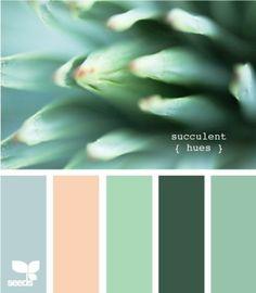 succulent hues Color Palette by Design Seeds Colour Pallette, Colour Schemes, Color Combos, Barn Wedding Inspiration, Color Inspiration, Color Menta, Color Harmony, Design Seeds, Color Stories