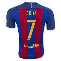 Barcelona 16-17 Arda Turan 7 Hjemmedraktsett Kortermet.  http://www.fotballteam.com/barcelona-16-17-arda-turan-7-hjemmedraktsett-kortermet.  #fotballdrakter