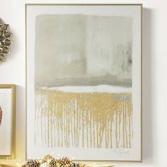 After The Storm Artwork - Grandin Road Brown Master Bedroom, Canvas Artwork, Canvas Prints, Pottery Barn Pillows, Gold Leaf Art, Contemporary Wall Art, Modern Art, After The Storm, Elements Of Design