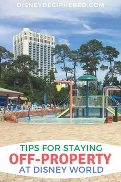 Tips for Staying Off Site at Walt Disney World - Disney Deci.- Tips for Staying Off Site at Walt Disney World – Disney Deciphered Staying off-property at Walt Disney World? Tips for how to make the most of your off-site hotel or condo stay. Vacation Ideas, Disney Vacation Club, Disney Vacation Planning, Orlando Vacation, Disney World Planning, Florida Vacation, Disney Vacations, Disney Travel, Orlando Disneyworld