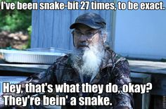 Si and snakes.
