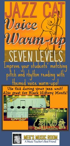 I am using this as part of my Black History Month Celebration. I started using themed voice warm-ups this year with my students, and my students have improved so much! The themes keep the warm-ups interesting for both my kids and for me! Teacher sings each pattern; students echo. #musicteacher #iteachmusic #musiceducation #musicclassroom #elmused #musicteacherlife #elementarymusicteacher #musicteachersofinstagram #instamusiced #musiced #elementarymusic #musicteachersrock…