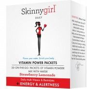 Skinnygirl Vitamin Power Packets +Energy & Alertness (Strawberry Lemonade) - Have & LOVE! Vitamins For Energy, Daily Vitamins, Blueberry Lemonade, Strawberry Lemonade, Anxiety Relief, Stress Relief, Mommy Workout, Hair Skin Nails, Green Tea Extract