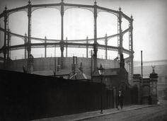 Modern Gasometer, London, by E.O. Hoppé, 1929.