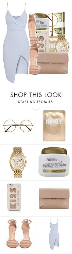 """"""""""" by glowithbria ❤ liked on Polyvore featuring Retrò, Lapcos, Michael Kors, Organix, Kate Spade, MANGO and Stuart Weitzman"""