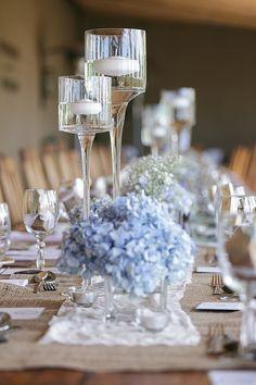 Blue Hydrangea Weddi