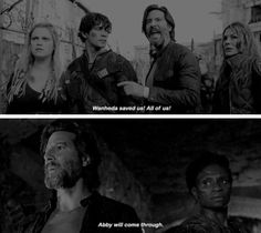 "#The100 4x01 ""Echoes"""