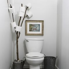 Rustic bathrooms 290200769736997936 - Have you been looking for a rustic bathroom branch toilet paper holder that is not only functional, but also SUPER EASY as well? Then stop on by super plum! Source by Diy Toilet Paper Holder, Toilet Paper Storage, Paper Holders, Toilet Roll Holder, Industrial Bathroom Vanity, Rv Bathroom, Bathroom Ideas, Bathroom Makeovers, Budget Bathroom