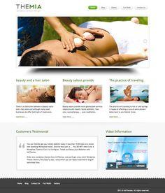 Themia WordPress Spa Salon Theme