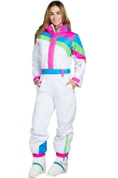 Women's Dayglow Dream Ski Suit