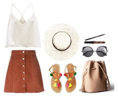 """""""choc kit"""" by viennaelgiva on Polyvore featuring Theory and Wood Wood"""