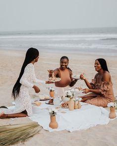 Black Girl Magic, Black Girls, Black Girl Beach, Black Girl Photo, Woman On Beach, Bougie Black Girl, Black Luxury, Brown Skin Girls, Looks Black