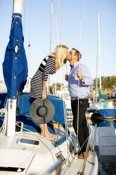 Super cute nautical engagement session! :)  #engagement #wedding #photography