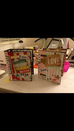Build-A-Page Remix Albums created by crafter Robin Gale.