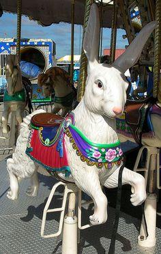 I like carousel animals that aren't horses!