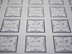DIY stamps for weddings invitations