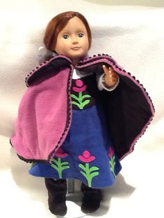 "American 18"" doll Anna dress from Frozen"