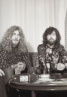 robert plant, jimmy page