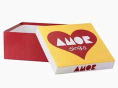 Caixa Giftbox Paçoca Amor.