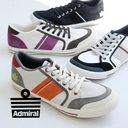 """Basic """"Ino mer"""" of Admiral which is famous as a soccer brand born in the U.K.! /UK4/UK5/UK6/UK7/ import ◆ Admiral (admiral) INOMER sneakers proud of unique coloring made in different fabrics MIX of the canvas X suede"""