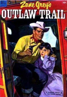 Cowboy - Gun - Bandanna - Hat - Zane Grey