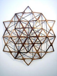 Lyndal Hargrave, Sacred Geometry, 2009 GEOMETRÍA SAGRADA