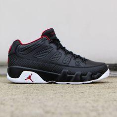 Jordan Men Air Jordan 9 Retro Low (black / white / gym red)