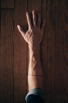 Line Forearm Tattoo
