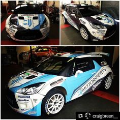 #WRC #LoveDS #WeAreDS #Repost @craigbreen__ ... So here it is! Our #CJJMotorsports DS3 R5 for next weeks Isle of Man.. What does everybody think?!