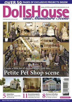 September 14 Dolls House and Miniature Scene front cover. www.dollshouseandminiaturescene.co.uk