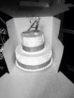 Classy birthday cake A