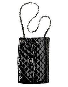 this bag is seriously awesome | chanel upside down black patent leather handbag | buyaHandbag