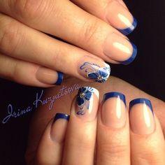 Gorgeous Nail Designs For Special Events French Manicure Nails, French Nails, Gorgeous Nails, Pretty Nails, Ambre Nails, Colored Nail Tips, Nail Polish Style, May Nails, Soft Nails