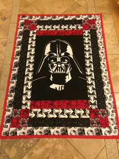 Sean suggested that we make each other something for Christmas this year, so he got a Star Wars quilt :-) It was fun to make and he loves it!