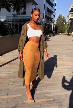 Black Beauties Dripping Outfits is part of Mens fashion Classy Clothing - Hello bambi's,Today we bring to you Black Beauties Dripping Outfits for the week Black is a be Dope Outfits, Classy Outfits, Chic Outfits, Trendy Outfits, Girl Outfits, Fashion Outfits, Womens Fashion, Fashion Trends, Black Girls Outfits