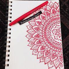 #kitskorner #mandalas #doodles #papermate #flair #meandmyinkpen