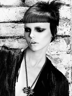 Hair: Darren Bain @ HOB Salons Photography: John Rawson Make-up: Lan Nguyen-Grealis Stylist: Sophie Kenningham