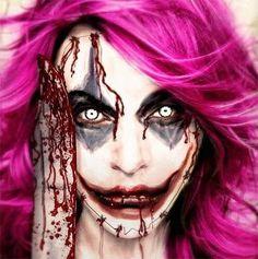 Cool Yet Scary Halloween Make Up Ideas & Looks For Girls 2013/ 2014 | Girlshue