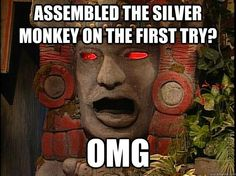 Miss this show so wanted to be on it as a kid... Legend of the hidden temple.