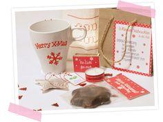 Instantweihnachten - Besinnliche Weihnachten in der Tüte verschenken. Anleitung und Bastelbogen zum Download