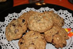 These LACTATION CHOCOLATE CHIP cookies taste amazing and are said to increase milk production in nursing mothers. They are just like regular chocolate chip. But, these have flax seed and dried cranberries too.