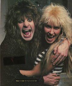 Ozzy & Lita Ford