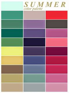color me beautiful summer palette - love the purples, deep pinks and creams Summer Color Palettes, Soft Summer Color Palette, Colour Pallette, Summer Colors, Color Combos, Best Color Combinations, Deep Winter Colors, Autumn Colours, Color Pairing