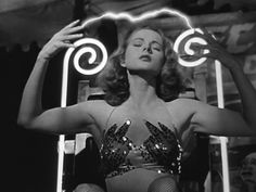 """Coleen Gray gets the photo from 1947's stunning """"Nightmare Alley,"""" but this is probably Tyron Power's best performance. Creepy. Sordid. Still shocking. This story of a carnie's fall from grace is guaranteed to give you nightmares, or, in true noir fashion, unsettling dreams."""