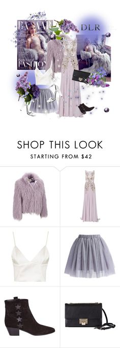 """DLR luxury boutique lilac"" by briesepb ❤ liked on Polyvore featuring Whiteley, Georges Hobeika, Topshop, Chicwish, Yves Saint Laurent, Jimmy Choo and Steve Madden"