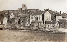 Whitby East Side, 1922 - Whitby in 1922 - Whitby Online Whitby England, Yorkshire England, North Yorkshire, Old Pictures, Old Photos, Miles To Go, Photography Exhibition, Middlesbrough, Edinburgh Scotland