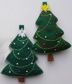 Vánoční dekorace - sada 2 ks