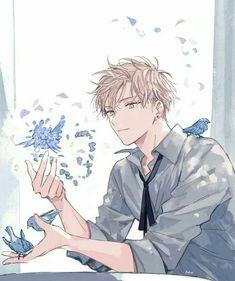 """You have a diarrhea of mouth, constipation of ideas"" He said as his … Hot Anime Boy, Cool Anime Guys, Handsome Anime Guys, Anime Girls, Marchandise Anime, Fan Art Anime, Anime Male, Katsura Kotonoha, Anime Boy Zeichnung"