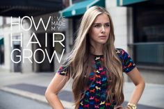 The Makerista: Reader Question: How I've Made My Hair Grow...good tips..
